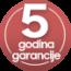 5 god. garancije na LG bijelu tehniku