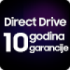 10 godina garancije na Direct Drive motor