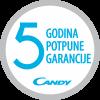 Candy 5 god. garancije