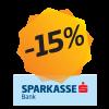 -15% popusta Mastercard Shop&Fun i Revolving Sparkasse karticama