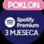 Spotify Premium 3 mjeseca