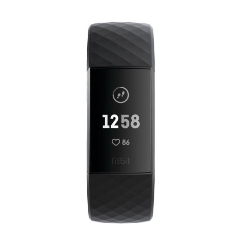 Tracker Fitbit Charge 3 FB409GMBK Graphite/Black