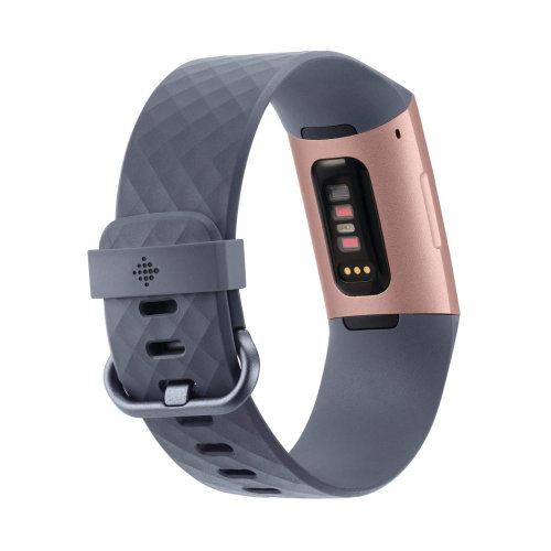 Tracker Fitbit Charge 3 FB409RGGY Rose Gold /Blue Grey