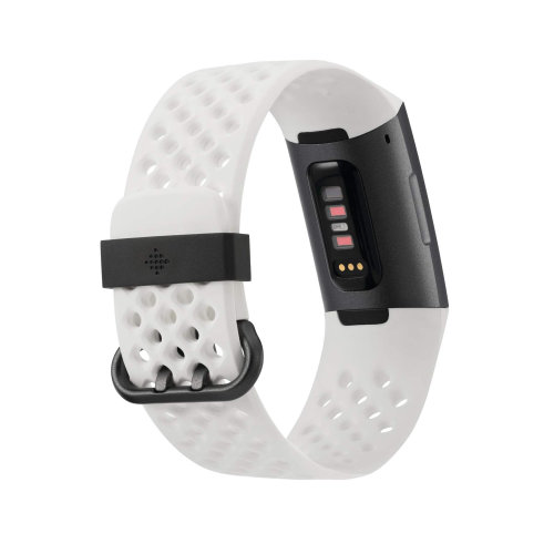 Tracker Fitbit Charge 3 FB410GMWT SE Graphite/White Silicone
