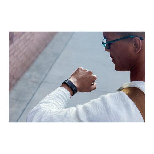 Tracker Fitbit Charge2 FB407GMBKL SE Gunmetal L