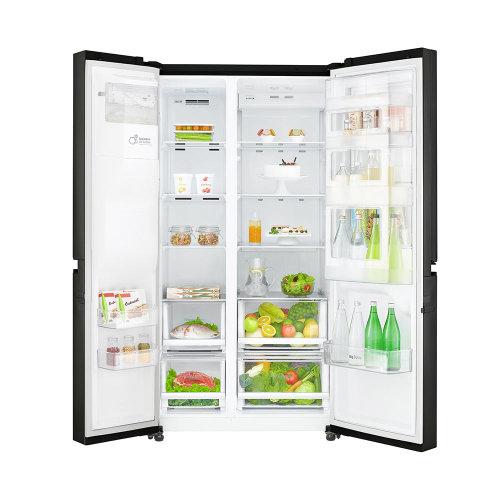 Side by Side frižider LG GSJ760WBXV