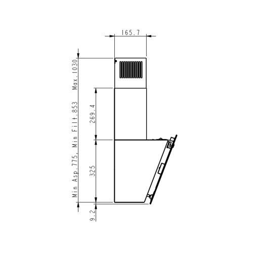 Napa Elica Lixa BL/A/60