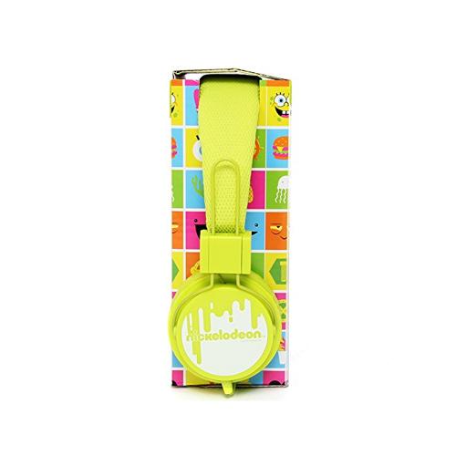Slušalice Nickelodeon for kids, green, NIC-1774