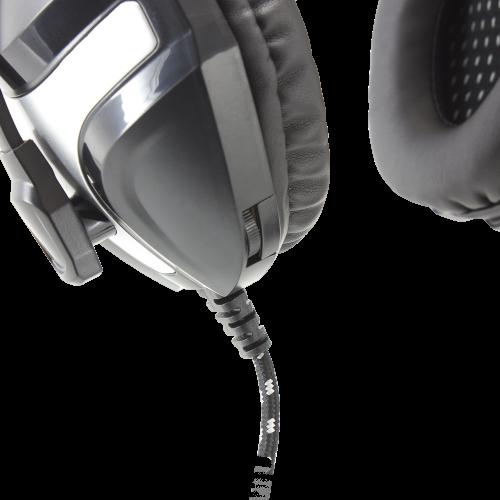 Slušalice sa mikrofonom White Shark GH-101 LYNX Crni
