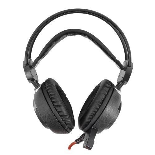 Slušalice sa mikrofonom White Shark GH-1842 LEOPARD Crne