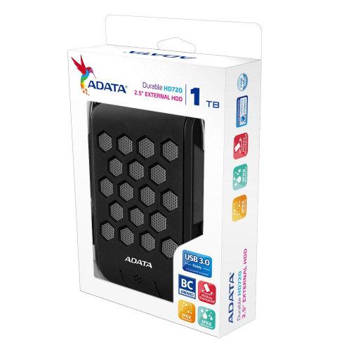 Externi HDD Adata HD720 1TB Durable Black