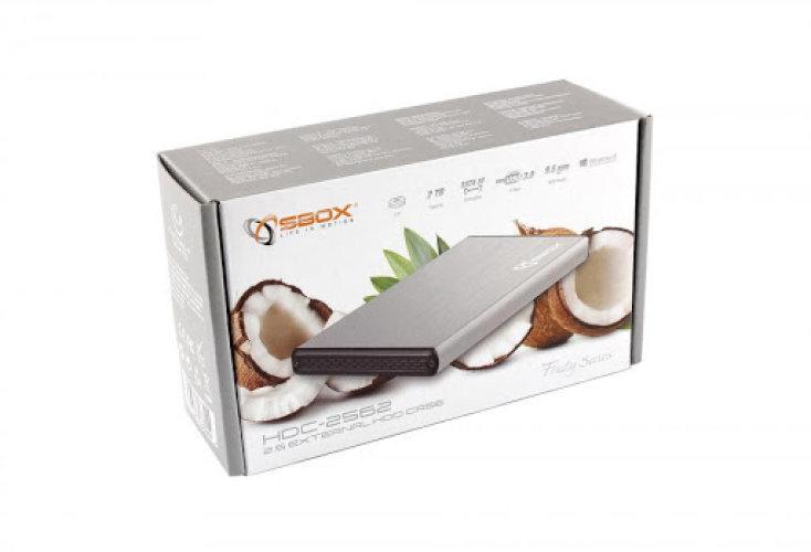 HDD Kućište SBOX HDC-2562-USB-3.0 bijeli