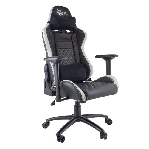 Stolica za Gaming White Shark Nitro GT Crno/Bijela