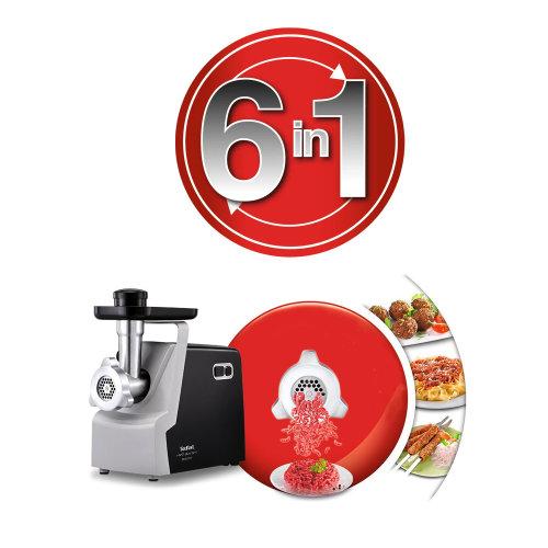 Mašina za mljevenje mesa Tefal NE542831 6u1