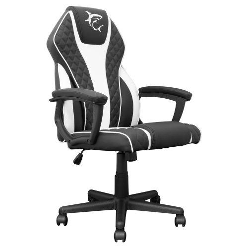 Stolica za gaming White Shark GC-481 PIRATE Crno/Bijela