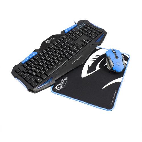 Tastatura + miš + podloga White Shark GC-3101 CHEROKEE 3in1