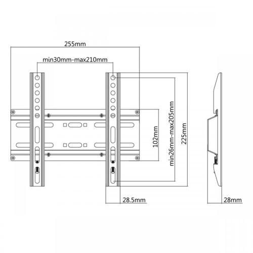 Stalak SBOX PLB-2522F