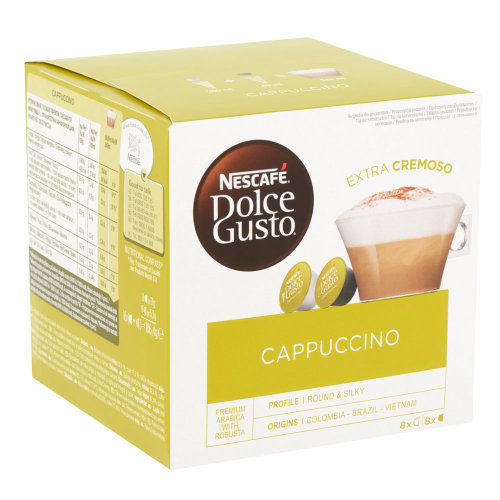 Kapsule Nescafe Dolce Gusto Cappuccino 186.4g