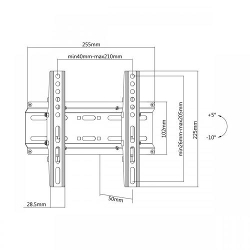 Stalak SBOX PLB-2522T