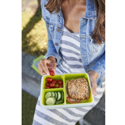 Plastična zdjela Emsa 518100 Clip&Go snack 1.2l