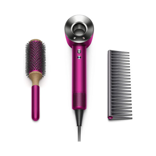 Fen Dyson Supersonic Iron/Fuchsia + Styling Gift set